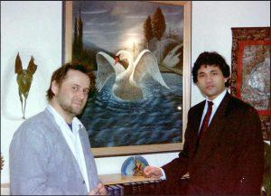 Marco Bodenstein mit Rolf May