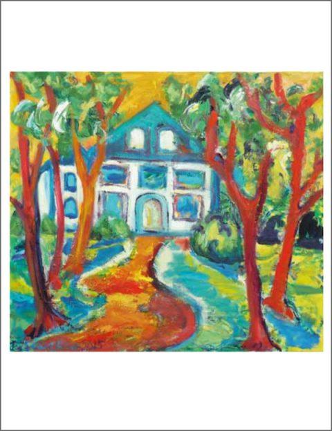 Birgit Sewekow - Blaues Haus