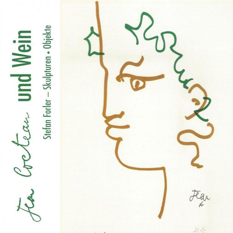Jean Cocteau und Wein