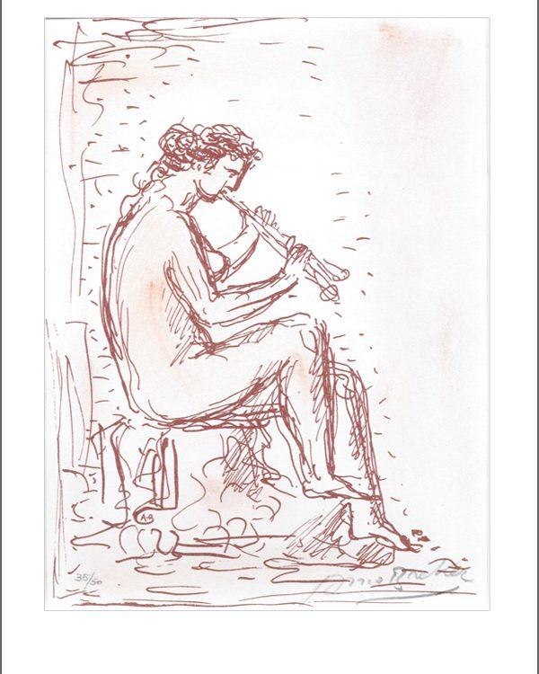Arno Breker - Die Flötenspielerin