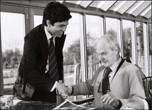 Marco Bodenstein mit Henry Moore